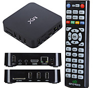 Dual Core Android TV Box XBMC Midnight MX Dual ARM Cortex A9 Estructura en Control Remoto WiFi (ROM 8GB RAM 1GB)