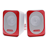 LOYFUN H500 Hi-fi Stereo Speaker Música para Laptop/Cellphone/MP4/PSP/CD