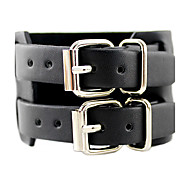Double Layer Leather Bracelet