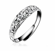 Starry Silver Rings Fashion Male And Female Models