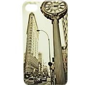 Schöne Stadt-Muster-Haut-harter Plastikfall für iPhone 4/4s