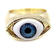 Gothic Damen-Gold-Legierung Augenerklärung Ringe (1 PC)