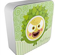 OUNUO Universal 8000mAh Cartoon Pineapple Monster Pattern Portable Power Bank External Battery (5V 2A Max,20cm)
