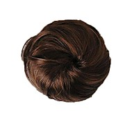 Short High Quality Bun Synthetic Hairpiece 3 Colors Available
