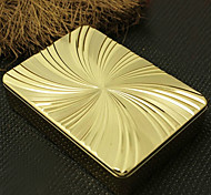 Mechero Electrónico USB del patrón de flor personalizada Rhombus Grabado