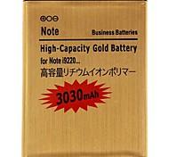 3.7V 3030mAh remplacement de la batterie au lithium-ion pour Samsung Galaxy i9220 Remarque