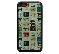 Cartoon Animals Drawing Pattern Hard Case for iPhone 5C