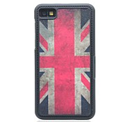 The Union Jack Drawing Pattern Hard Case for Blackberry