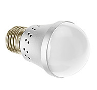 Lampadine globo Illuminazione LED integrata E26/E27 3 W 240 LM 3000 K Bianco caldo AC 85-265 V