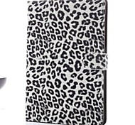 Luxury Leopard Print PU Leather Magnetic Case for iPad Mini 3/2/1 with Stand Function