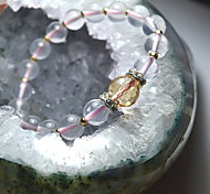 Health Caring Personality Naturel Crystal Hologram Bracelet(1 Pc)
