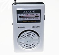 OJADE OE-1205 FM/AM Radio Receiver - White