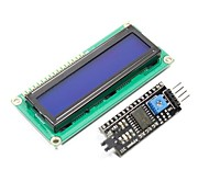 "IIC / I2C 2.5"" Blue Screen LCD Display Module for (For Arduino)"