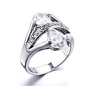 Wedding Style Fashion Silver Ring