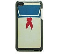 Red Scarf  Pattern Hard Case for iPod touch 4