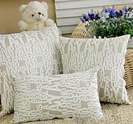 Moderno inglesi Lettere Modello cuscino decorativo Con inserto