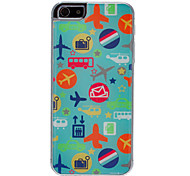 Vehicle Pattern Epoxy Hard Case for iPhone 5/5S