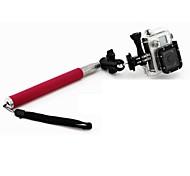Rosa 6-Abschnitt Retractable Handheld Einbeinstativ Pole für Gopro Held 2/3/3 +