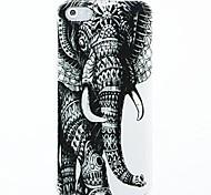 Elefantes Patrón Hard Case para el iPhone 5/5s