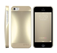 HOTGO Ultra Fit Slim Excellent Metal Quality Metallic Paint Aluminum Case Back Cover for iPhone 5S