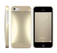 Ultra-Slim-Fit HOTGO Ausgezeichnet Metall Qualität Metallic-Lackierung Aluminium-Gehäuse Back Cover für iPhone 5S