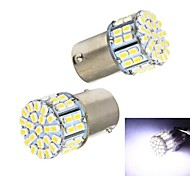Merdia 4W 140lm 1156 50x1206SMD LED White Car Tail Light / Steering Light (Pair / 12V)