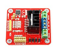 L298N Stepper Motor Driver Controller Board for (For Arduino) (Works with Official (For Arduino) Boards)
