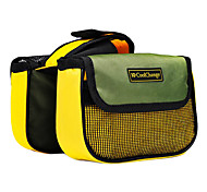 Bike Frame Bag Waterproof / Quick Dry / Dust Proof Leisure Sports / Cycling/Bike Polyester / Mesh / 420D Nylon Yellow