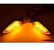 EN125 fibra de carbono material da motocicleta LED Remould Espada Ligue Luz (cores opcionais)