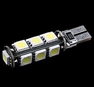 T10 W5W 194 927 161 CANBUS 13 5050 SMD LED Car Side Wedge Light Lamp Bulb Decode