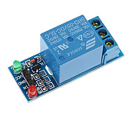 Синий KF301 Блок Модуль с релейными выходами Новый 5V Модуль 1 Канал Реле Реле плата расширения