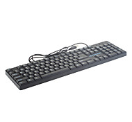 MA75 USB Wired Ergonomic Design Optical Mouse Keyboard