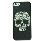 Yellow Skull  Pattern Hard Case for iPhone 5/5S