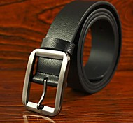 Men's Casual Genuine Leather Pin Buckle Belt 4 Colors