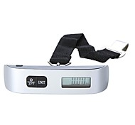 110Lb*0.02Lb Weight Portable LCD Display Electronic Luggage Scale for Travel 50kg*10g