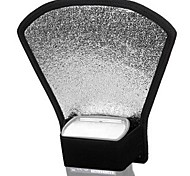 Flash Diffuser Softbox Silver / White Reflector for Many Brands of Flash