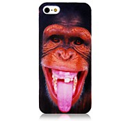 Orangutan Pattern Silicone Soft  Case for iPhone 4/4S