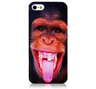 Orang-Utan-Muster-Silikon Soft Case für iPhone 4/4S