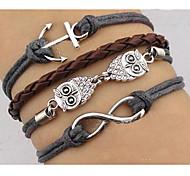 Women's Owl Bracelet