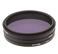 CPL + UV + Filtro FLD Ajuste para la cámara con filtro de bolsa (58 mm)