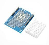prototipo scudo + mini tagliere per (per arduino) (funziona con ufficiale (per Arduino) schede)