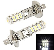 Merdia  H1  25 x SMD 3528 LED White Light  for Car Brake Light / Fog  Light(2 PCS)