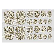 22PCS Abstract Chinese Style Decorative Pattern Toenail Art Sticker TJ Sery No.3