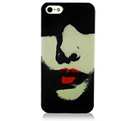 Red Lip Pattern Back Case for iPhone 5/5S