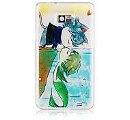 Mermaid Pattern Silicone Soft Case for Samsung S2 I9100