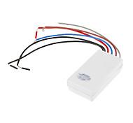 2 Circuitos de Controle única seção Switch (filamento da lâmpada 750W, 300W Lâmpada de poupança de energia)
