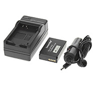 ismartdigi 895mAh Camera Battery+Car Charger for Canon EOS MM2 100D