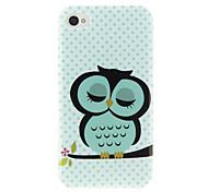Encapsulado Owl Cartoon protectora PC nuevo caso para el iPhone 4/4s