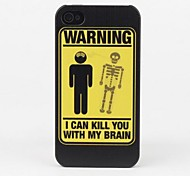 Brain Killer Protective Back Case for iPhone 4/4S