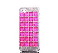 Diamante Bling Hard Case in plastica per iPhone 5/5S